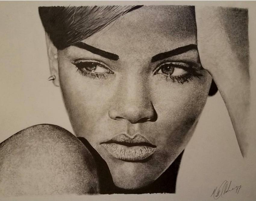 Rihanna by Chalmski